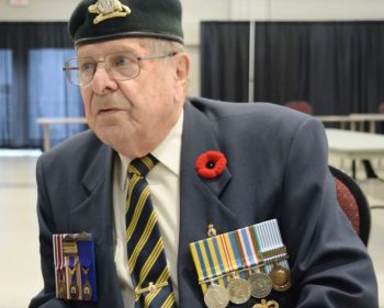 War veteran reflects for Remembrance Day