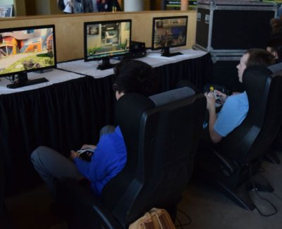 Students pack Commons for video game tourney