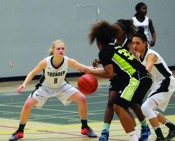Colts kicked with final home game win for Thunder women