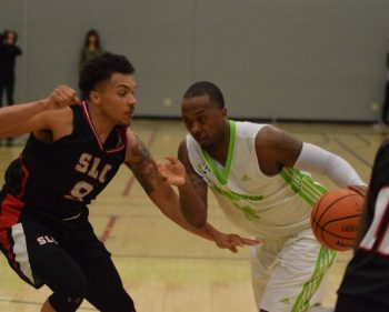 Thunder men fall just short Feb. 8