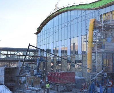 C building innovation centre project slowed, but still on course