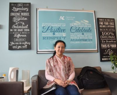 All religions meditate, pray, and knit at Algonquin's Spiritual Centre