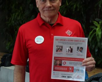 Students get cheeky with Canadian Blood Services for stem cell registry