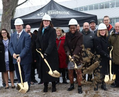 ARC construction underway with ground-breaking ceremony
