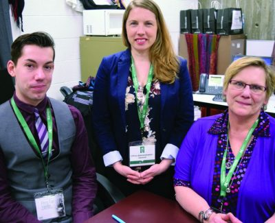Hand-me-downs get thumbs-up from admin students