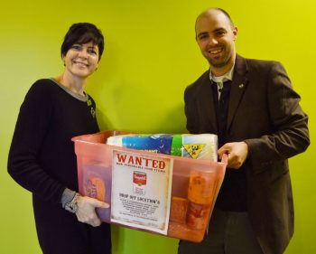 Driving change with on-campus food cupboard