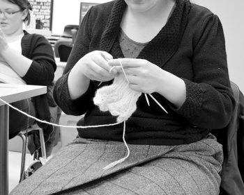 Knit 'n Knatter program inspires