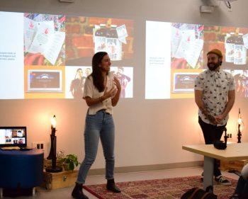 Graphic design grads bring Masterclass to students