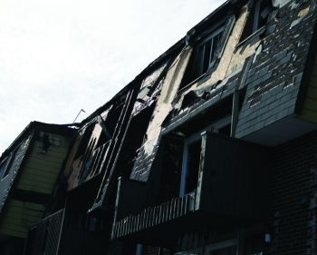 Five Algonquin students lose possessions in housing complex blaze