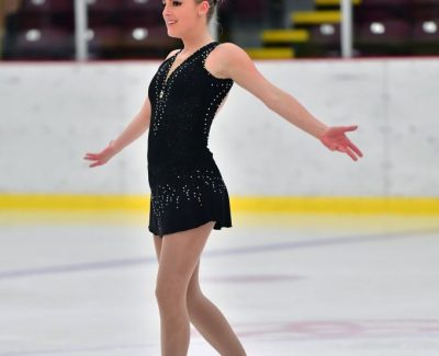 Pre-nursing student coached figure skaters
