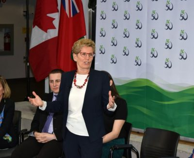 Premier visits Algonquin, announces $2.9 million in extra funding