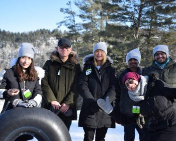 International students sample Canadian winter with fun on the slopes