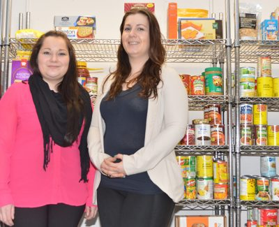 College collects community donations for cupboard
