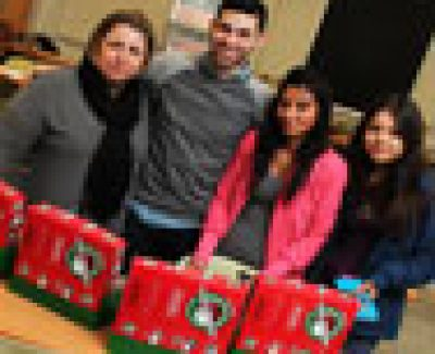 Operation Christmas Child a shoe-in