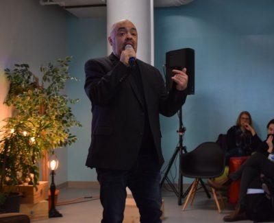 'Refresh' theme of entrepreneur's talk