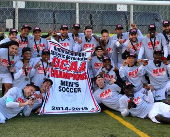Men's Soccer Wins OCAA Championship