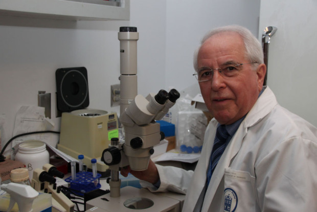 Leo Renaud takes a tour of what remains of his neuroscience lab at the Ottawa Hospital. Renaud is retiring from neuroscience  research after working for 50 years in the field. Navigating the very different goals and needs of researches had its challenges.