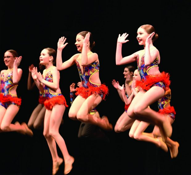 Dance Roots puts on its competitive showcase to family and friends in Algonquin's Commons Theatre on Feb. 29.