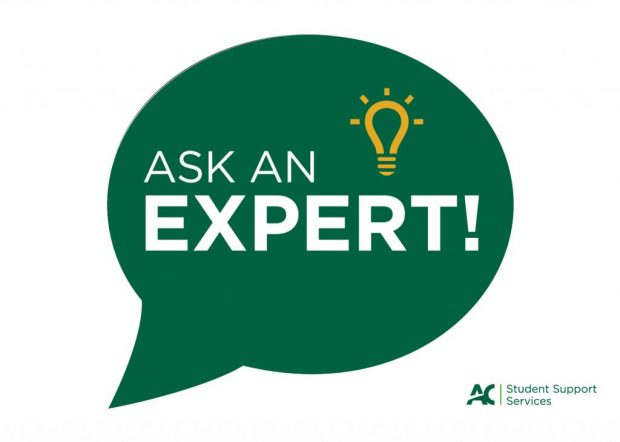 """Ask an Expert"" series is presented by Algonquin College&squot;s Project Lighthouse and The Umbrella Project."