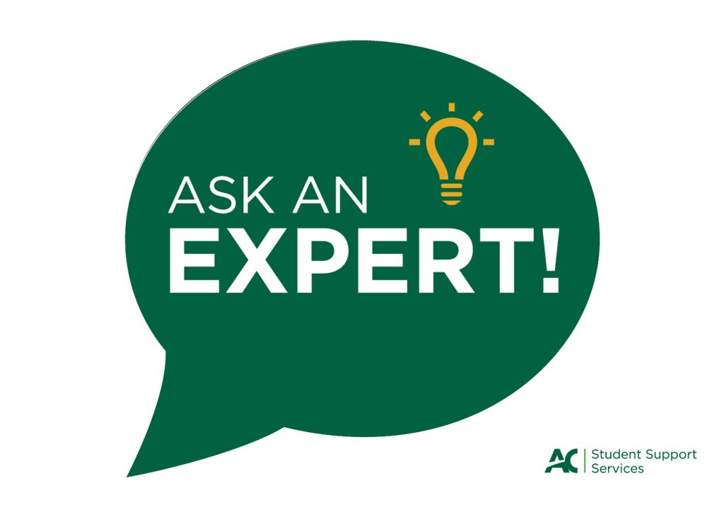 """""""Ask an Expert"""" series is presented by Algonquin College&squot;s Project Lighthouse and The Umbrella Project."""