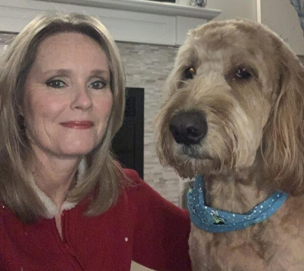 For Monty's owner, Tracy McDougall, having her furry friend at work helped her to get out of the office and interact with people on campus.