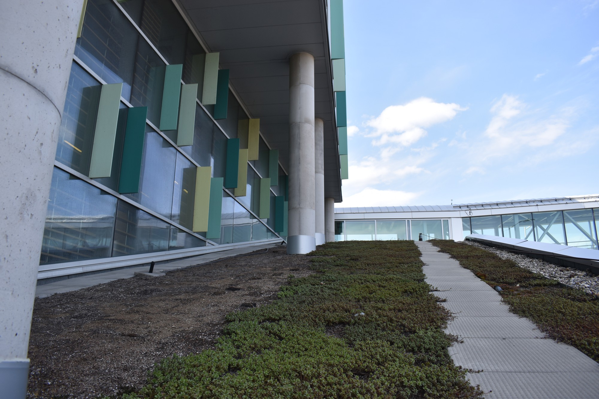 Opened in 2011 the ACCE building received LEED Platinum certification.