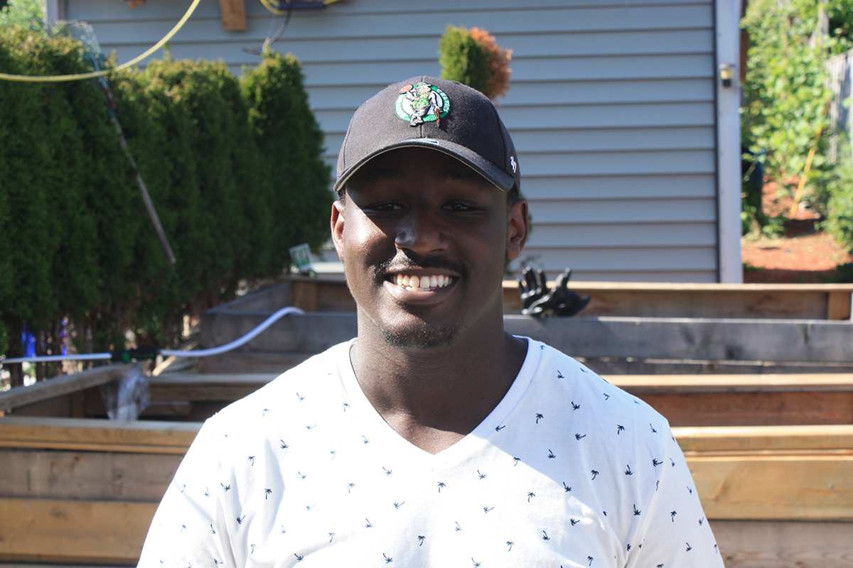 Carleton University business commerce student Justin Kariuki
