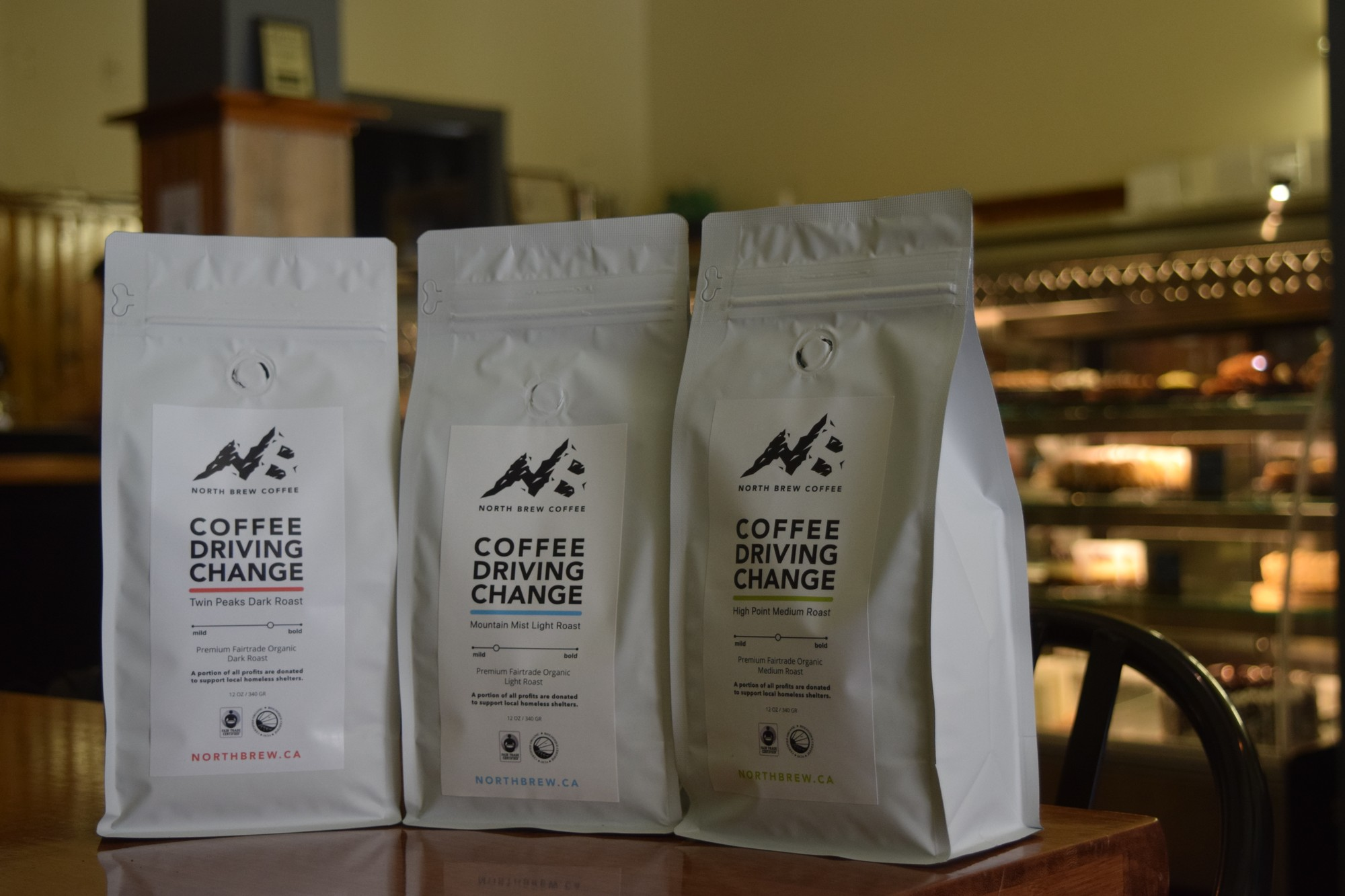 Rankin's North Brew Coffee, sold at Oh So Good Desserts & Coffeehouse in the Byward Market.