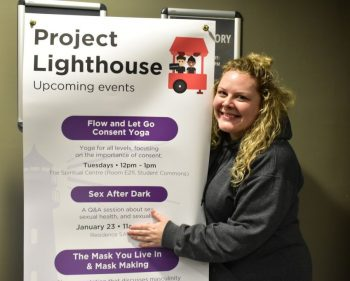 Sexual health event at Algonquin's residence focuses on fun and safety