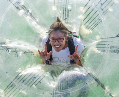 #ACDay1: Bubble soccer, archery tag matches heat up the Thunderdome