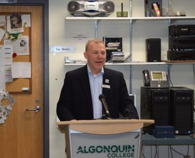 Algonquin won't be carbon-neutral soon, but Brulé says sustainability is a goal