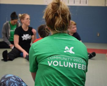 Awesome Algonquin volunteers at Ausome Camp