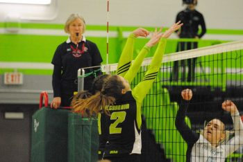 An emotional game day for Thunder women's volleyball