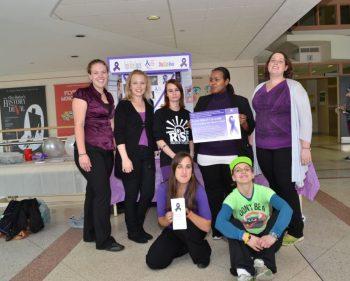Raising awareness for child abuse