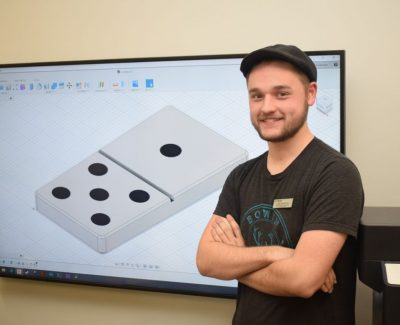 MakerSpace 3D design workshop provides a casual introduction to 3D space