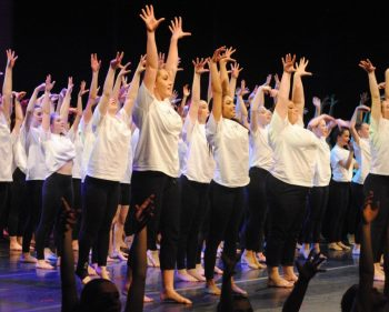 Dancers perform to raise money for youth mental health