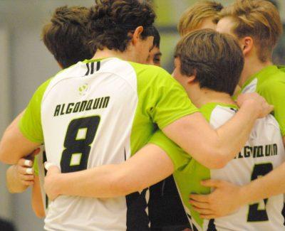 Lightning strikes again for Thunder men's volleyball