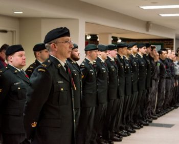Algonquin College Remembrance Day ceremony honours those who serve