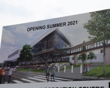 New Athletics and Recreation Centre will include golf, bowling, climbing