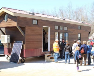 Tiny houses win big attention at Perth campus