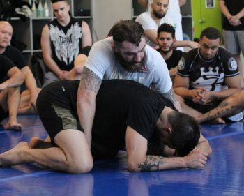 UFC's Condit and Chiesa host MMA workshop in the Impact Zone