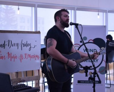 Wind Down Friday with singer TJ Morrison