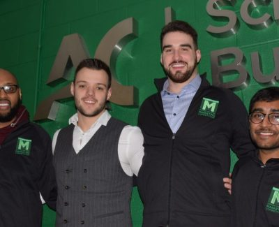 Third-place finish for Algonquin's student marketing team