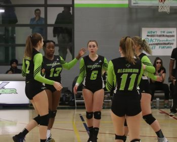 Thunder women's volleyball team claims the court against Fleming