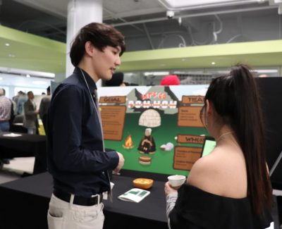 Innovative projects scattered around college for annual research showcase