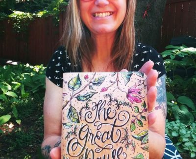 Algonquin professor brings hope to the world through her art