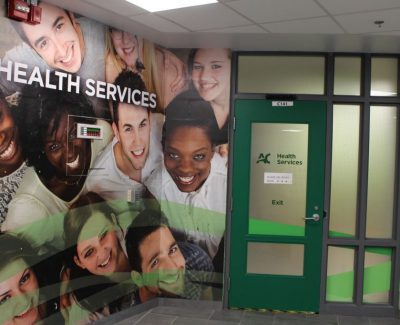College to outsource health services in April