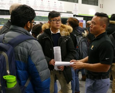 Major turnout for annual career fair