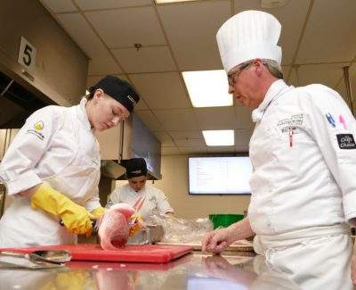 Culinary competitors put their skills to the test