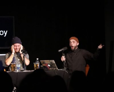 Sickboy makes crowd sick with laughter
